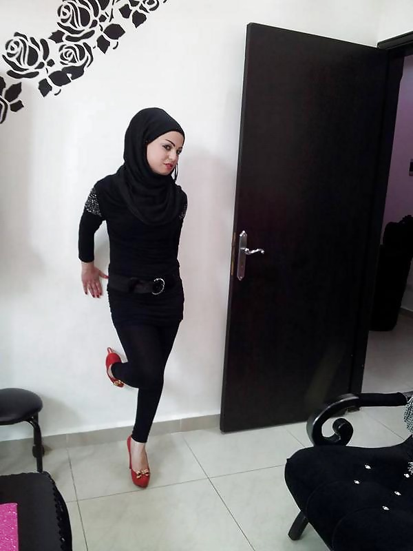 hijab and high heels